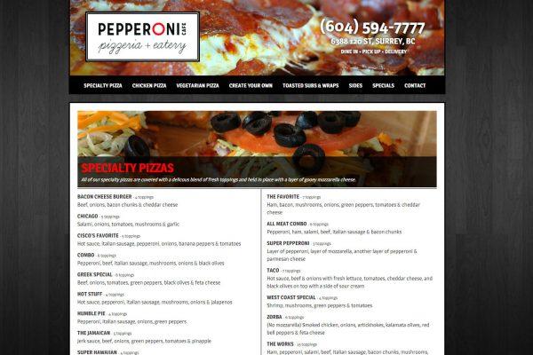 Pepperoni Cafe